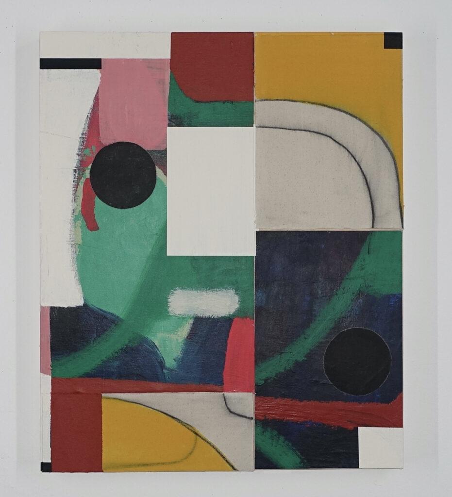 2642-III-21, 2021, acrylic on canvas on board, 24x20 inches, Michael Gibson Gallery, London, Ontario